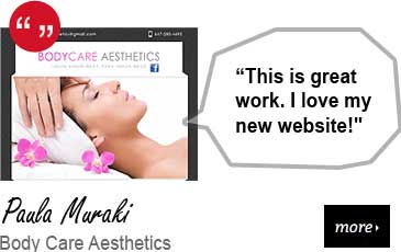 Web Design Testimonial - Body Care Aesthetics