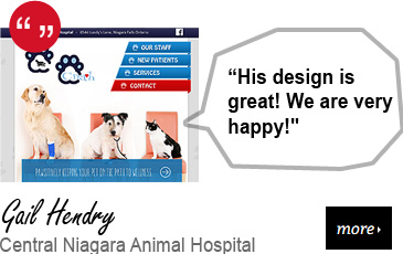 Web Design Testimonial - Central Niagara Animal Hospital