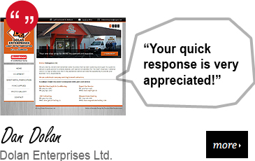 Web Design Testimonial - Dolan Enterprises