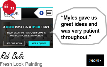 Web Design Testimonial - Fresh Look Painting