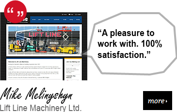 Web Design Testimonial - Lift Line