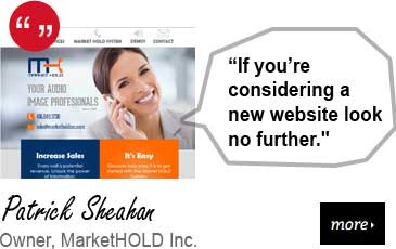 Web Design Testimonial - MarketHOLD Inc
